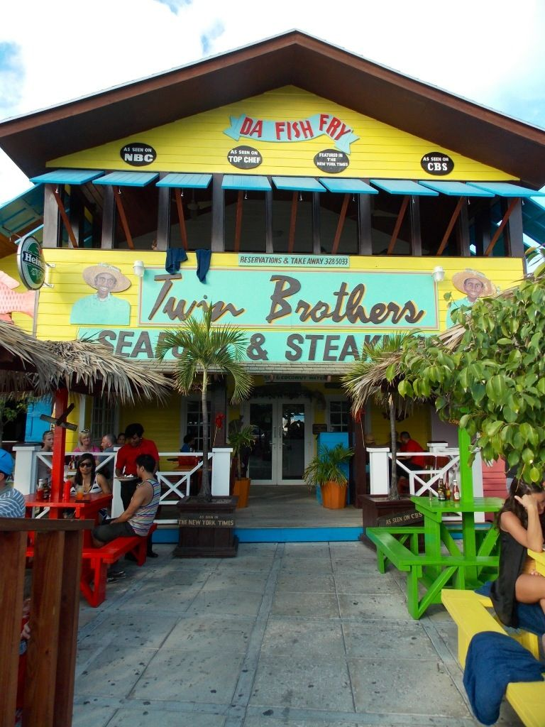 "Twin Brothers"" Seafood & Steakhouse – Nassau, Bahamas 