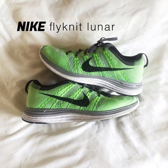 quality design a17b7 12e7b NIKE  Flyknit Lunar 1 ♡ Preloved but in amazing condition ♡ Only worn  indoors to