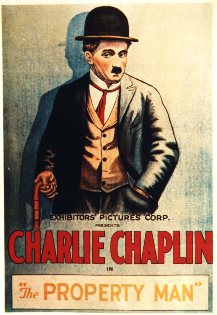 1914 Charlie Chaplin movie poster print Tillie/'s Punctured Romance