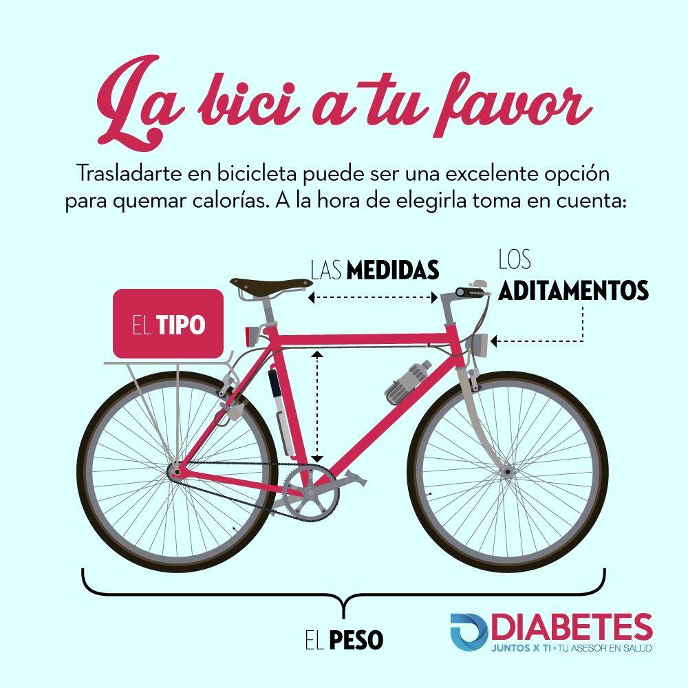 diabetes en bicicleta