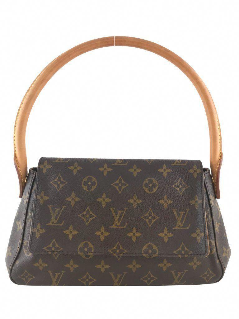 5b6f22827fabe6 Louis Vuitton Mini Looping Monogram Bag - Consigned Designs #Chanelhandbags