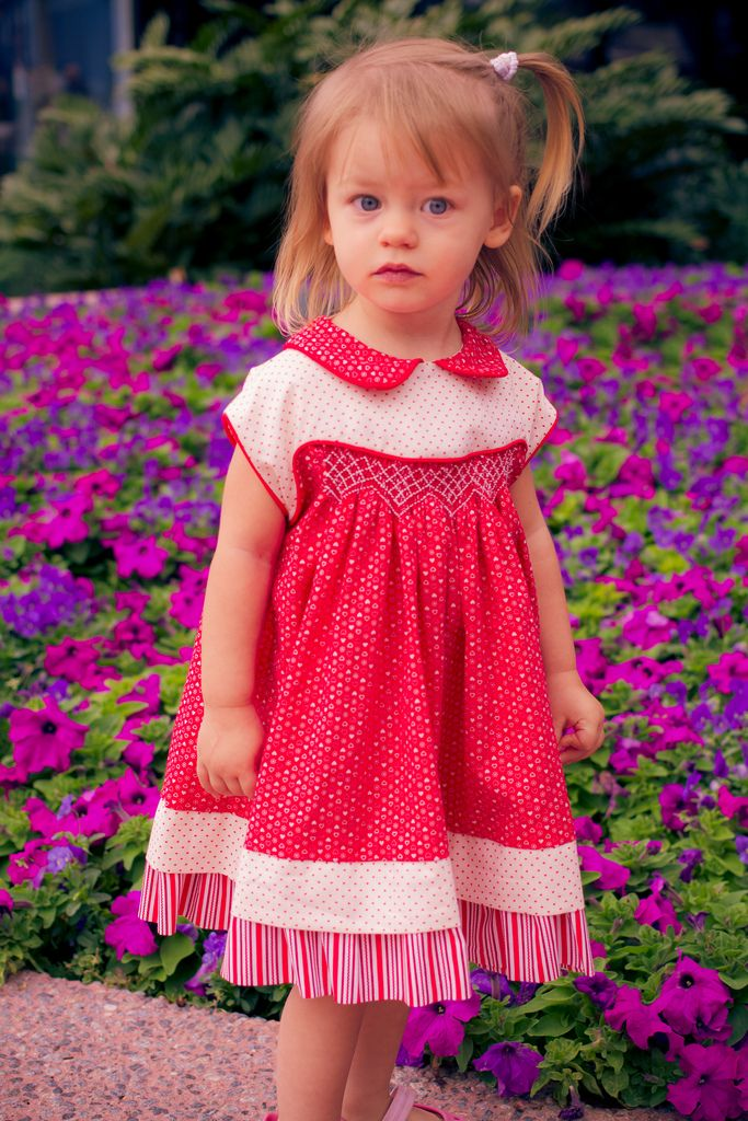 Hand Smocked Dress Using Frannie Pattern Purchase