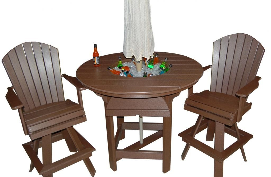 Strange Creekside Poly Lawn Furniture Party Table And Chairs Are Interior Design Ideas Pimpapslepicentreinfo