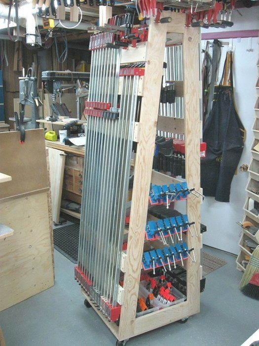 new yankee workshop layout. here is my version of the new yankee workshop norm\u0027s mobile clamp rack. i built mine after his basic design but used own hanging ideas to optimize layout 1