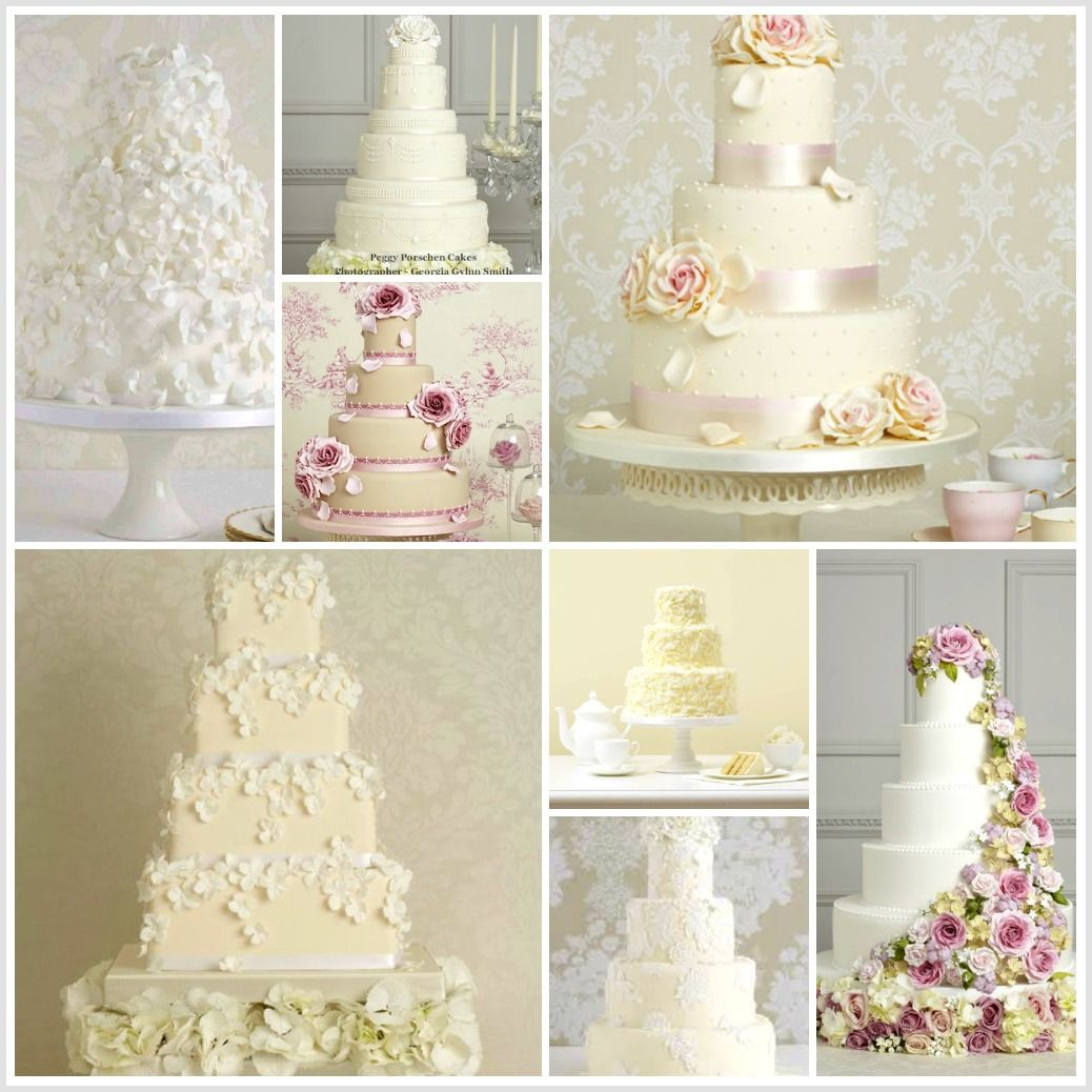 Wedding Cake Inspiration Ideas: Peggy Porschen Wedding Cakes!