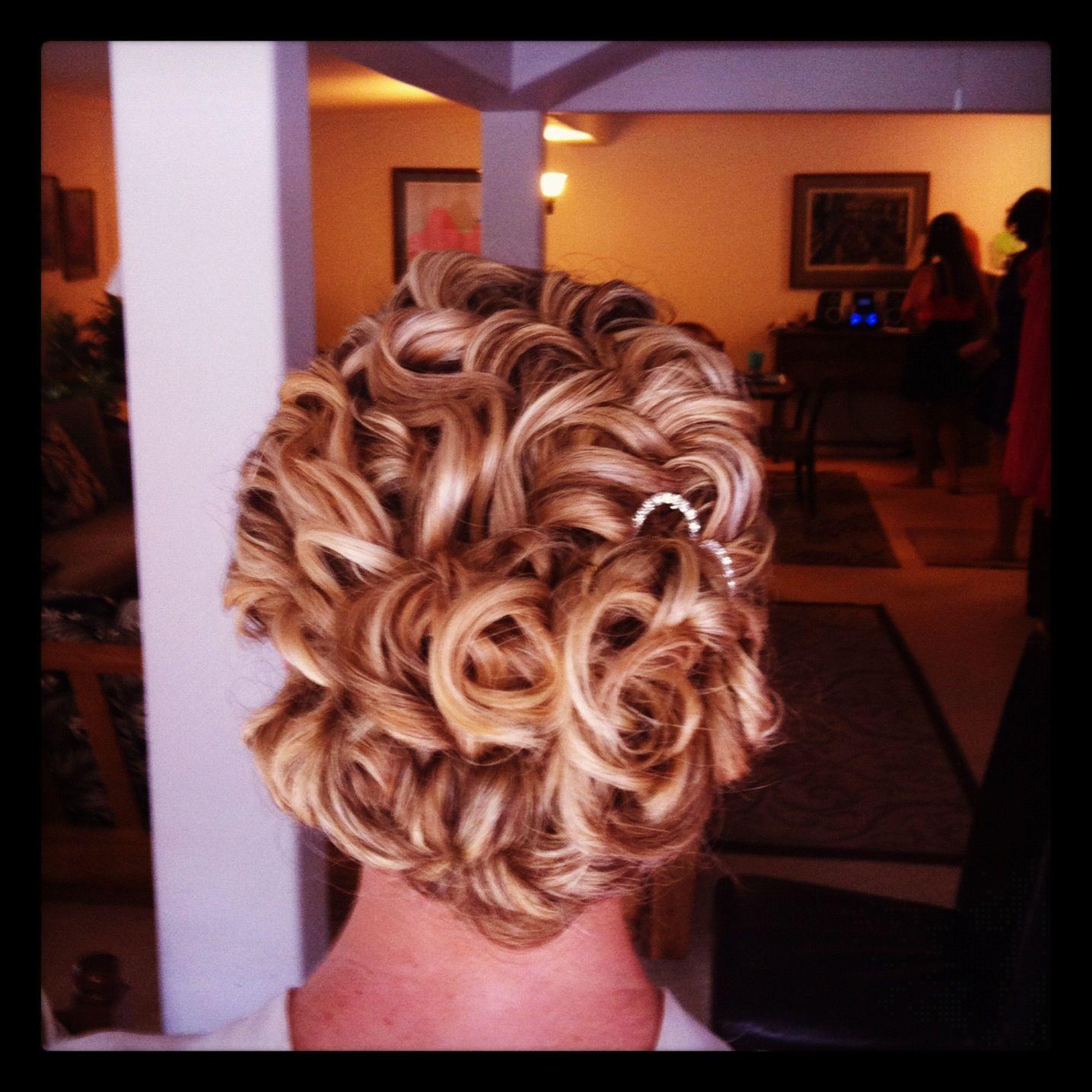 Curly hair updo hair mia moriguchi my portfolio pinterest