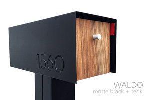 Waldo Modern Mailbox Modern Mailbox Modern Mailbox Post