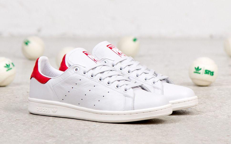 Adidas Originals Stan Smith Og - White / Red