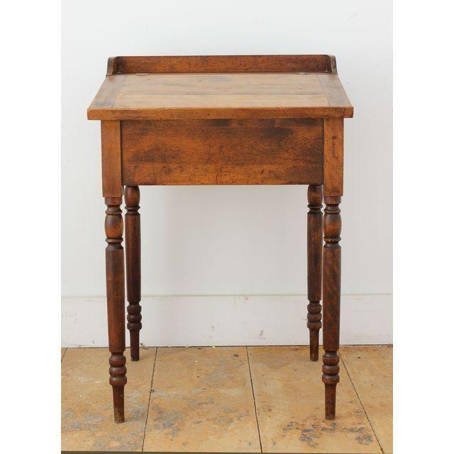 Antique Small Slant Top Desk Contemporary Furniture Home Decor Desk