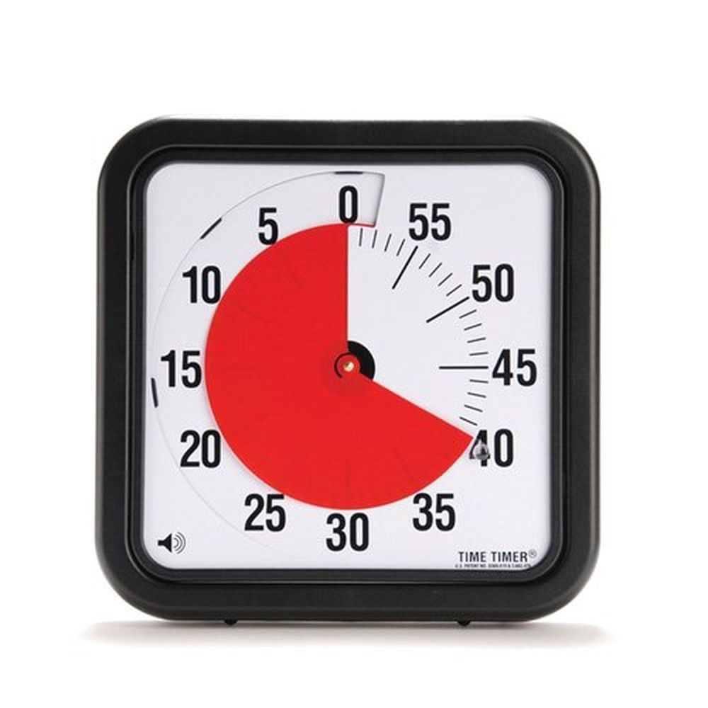 Time Timer 12 Inch Audible 60 Minute Countdown Timer Cl Room Or Office Timetimer