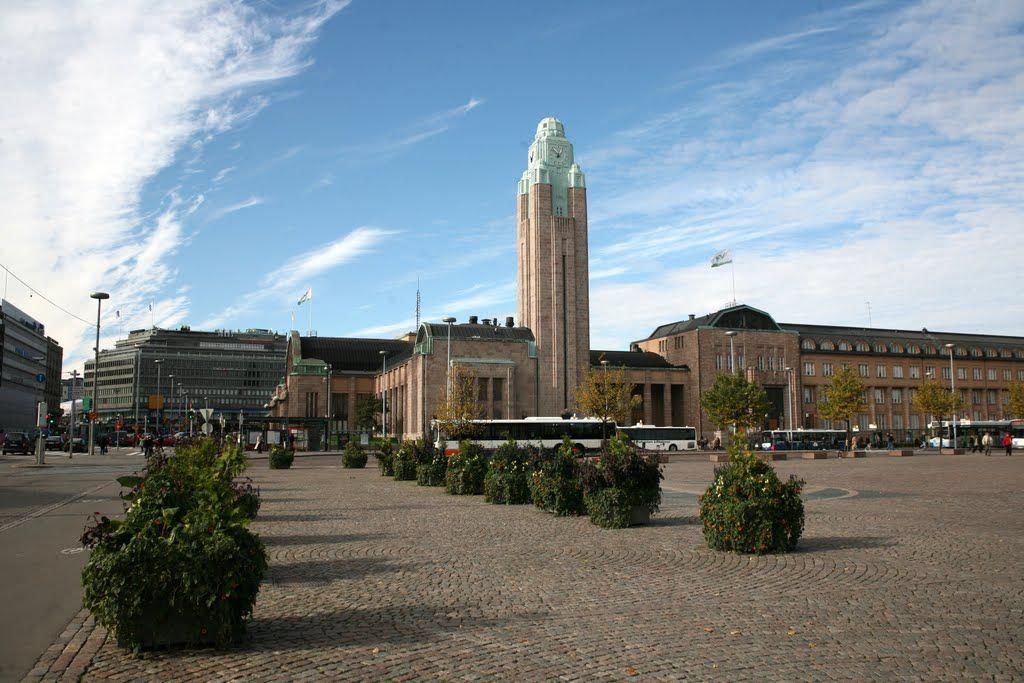 Helsingin päärautatieasema (Helsingfors centralstation), Helsinki (Helsingfors), Suomi (Finland)