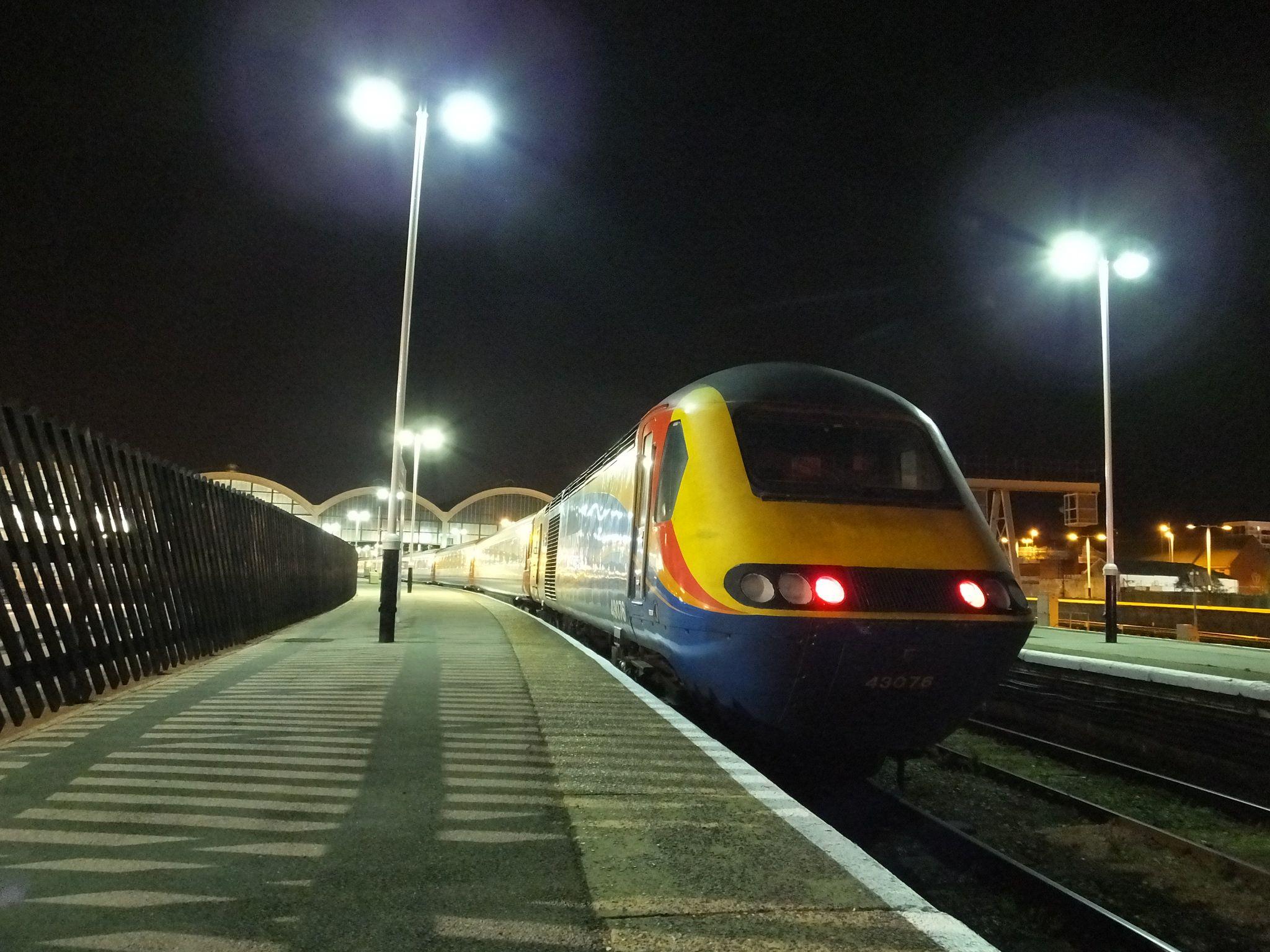43076 Hull Railway Station Railway Station Train Railway