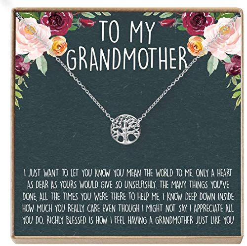 New Dear Ava Grandma Necklace: Grandma Gift, Gift Grandma, New Grandma Be, Only The Best Moms Upgraded Grandma, Tree online shopping