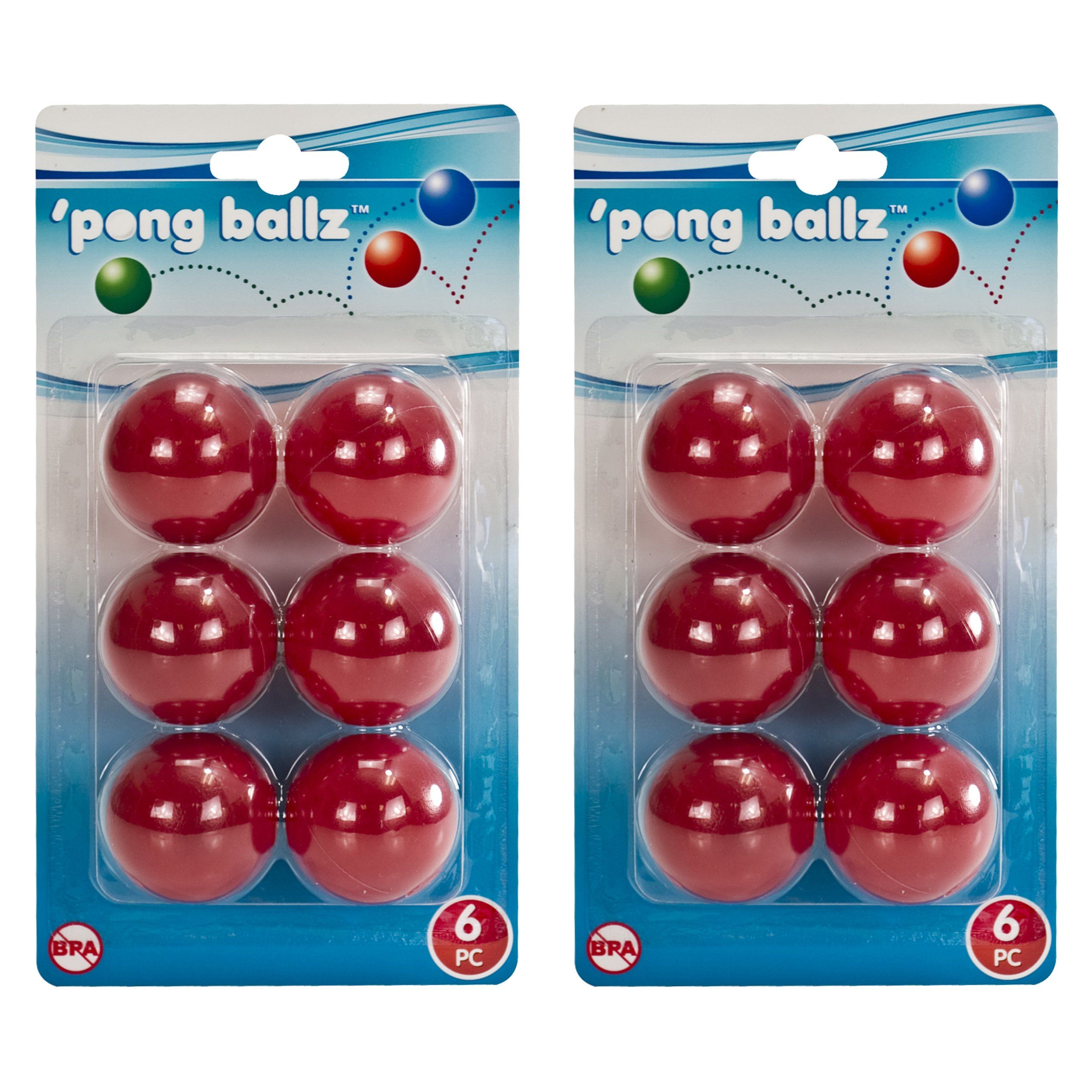 7 Ping Pong Balls for Quidditch Pong game, College
