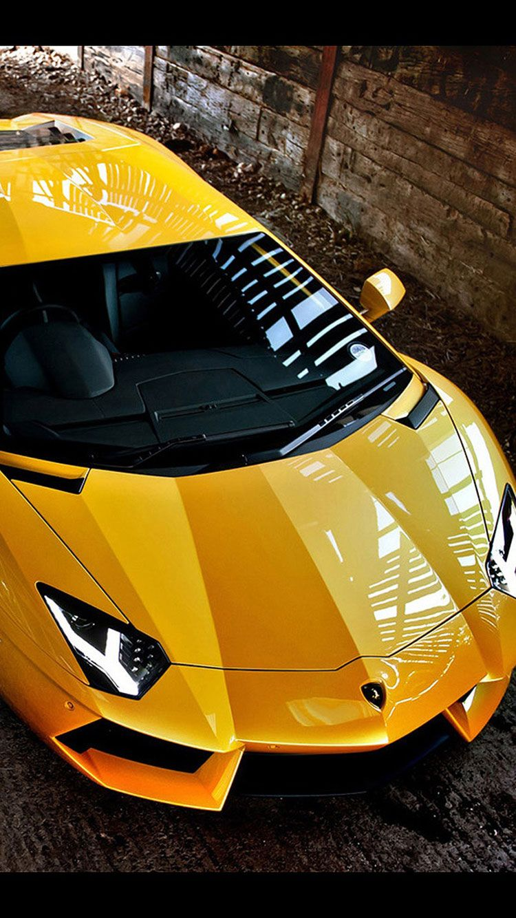 30 HD Yellow iPhone Wallpapers Cool sports cars, Super