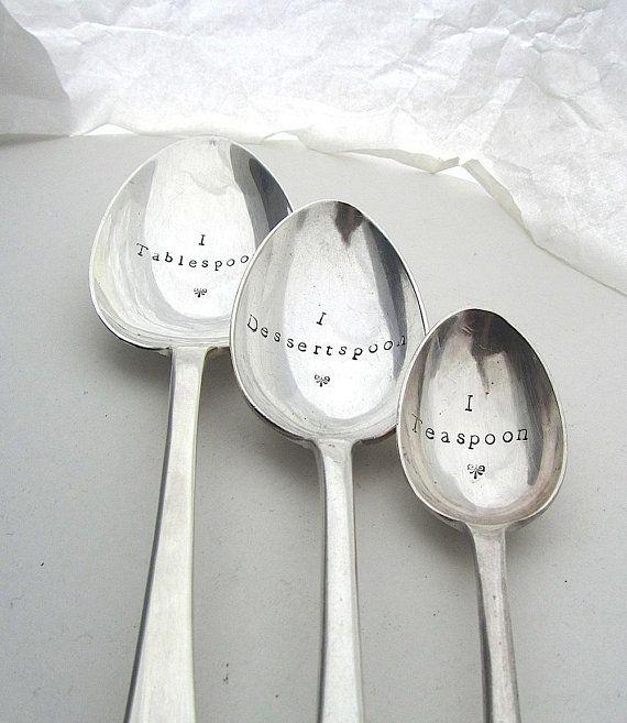 teaspoon dessertspoon tablespoon measures cooks. Black Bedroom Furniture Sets. Home Design Ideas