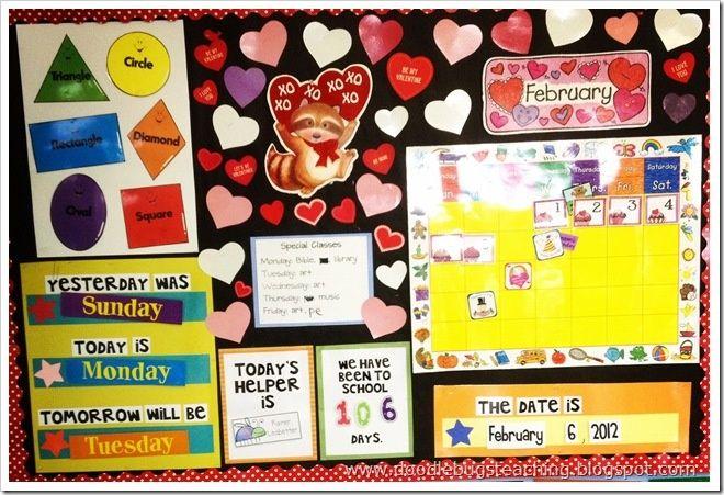 1st+grade+calendar+Bulletin+Board+Ideas | Found on ...
