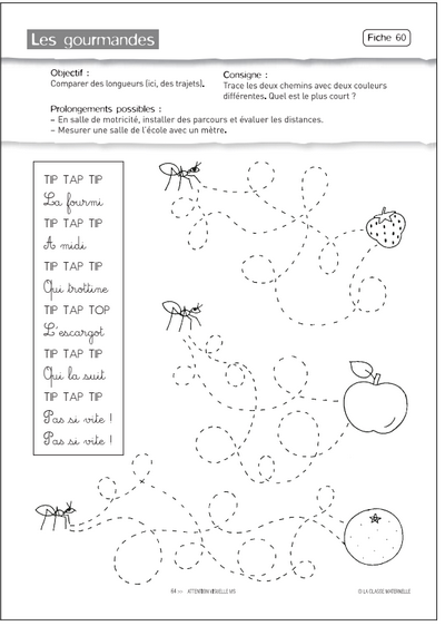 Épinglé sur Moyenne section maternelle - cycle 1