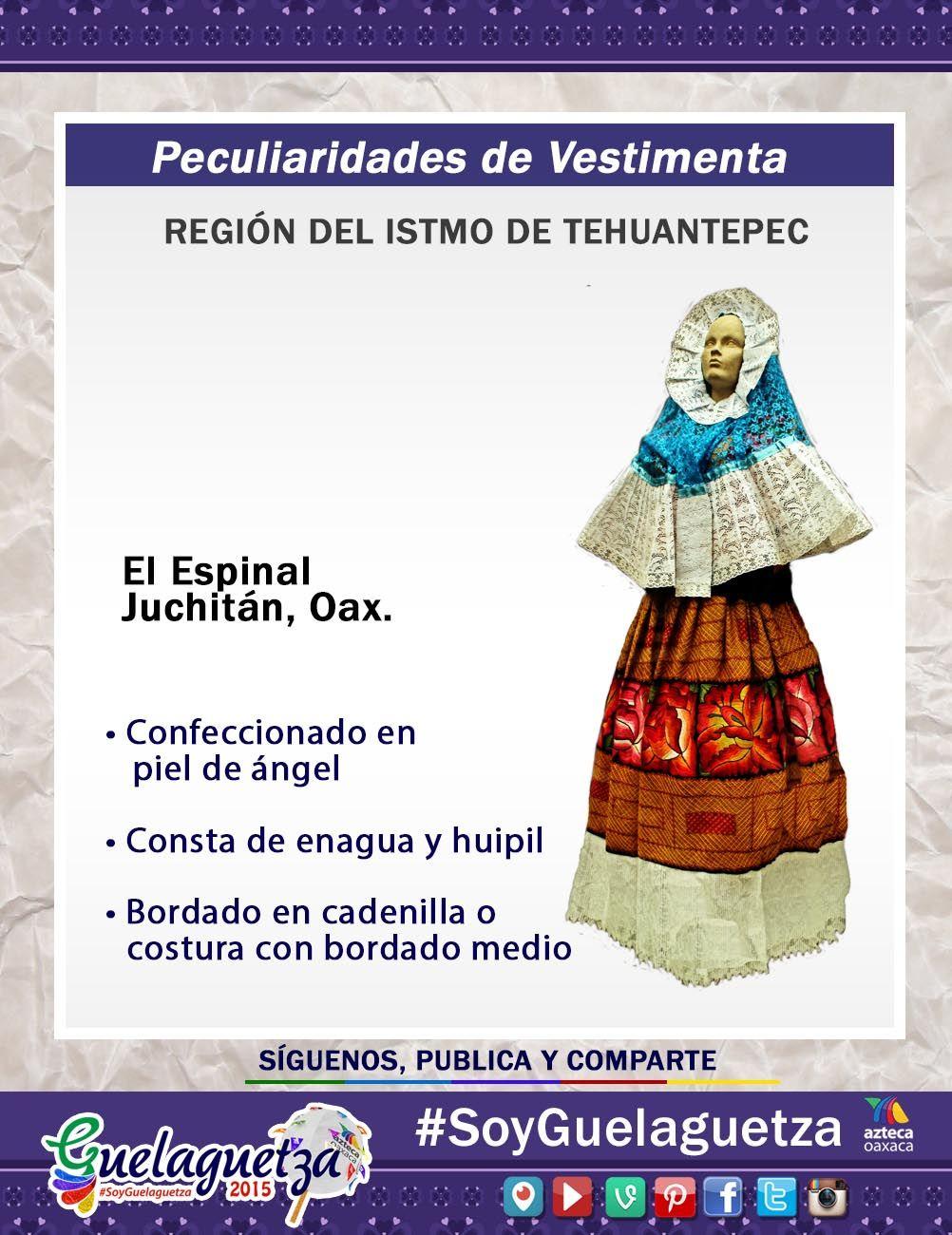 SoyGuelaguetza de la región del Istmo de Tehuantepec conoce la ...
