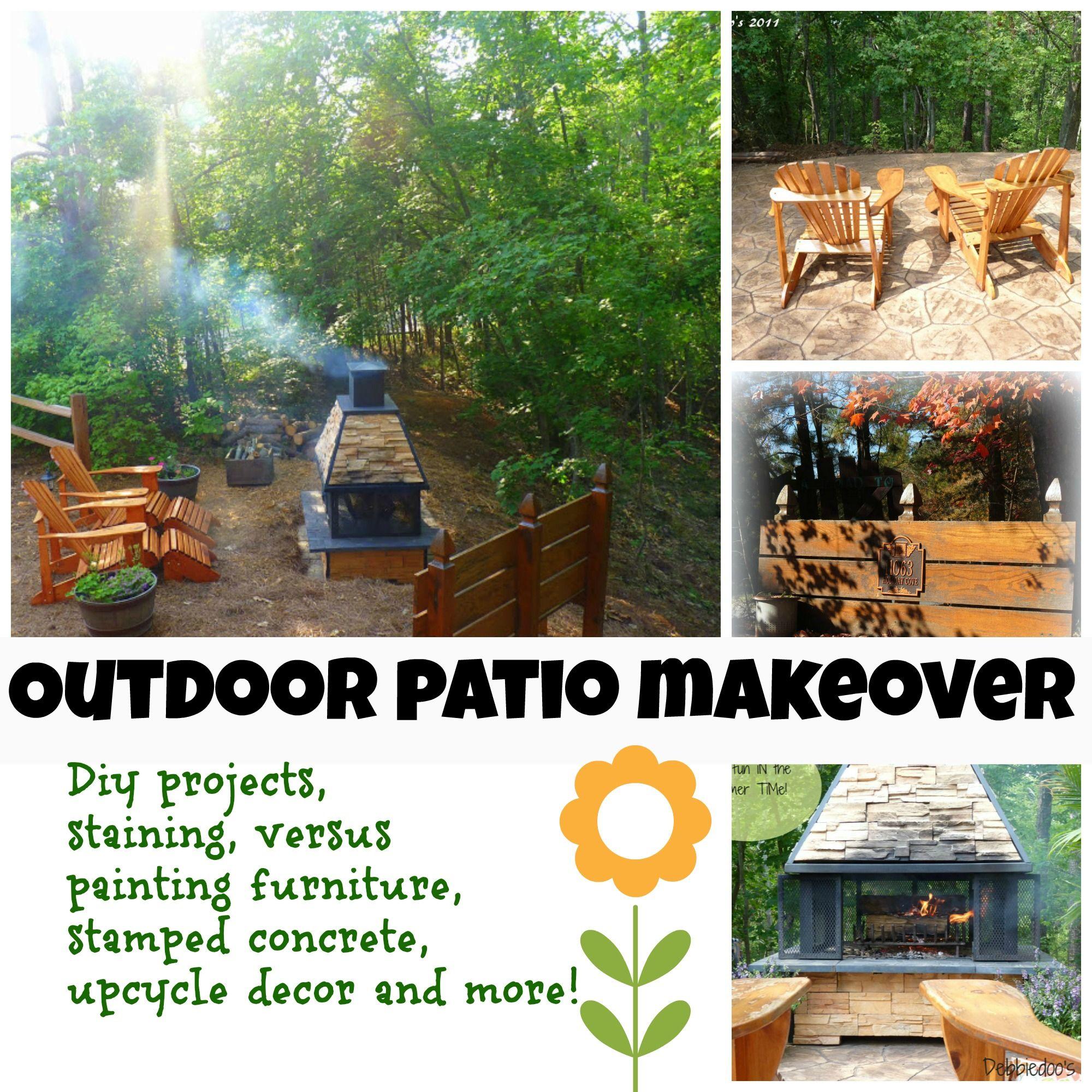 Elegant Outdoor Garden Patio And Diy Projects   Debbiedoou0027s