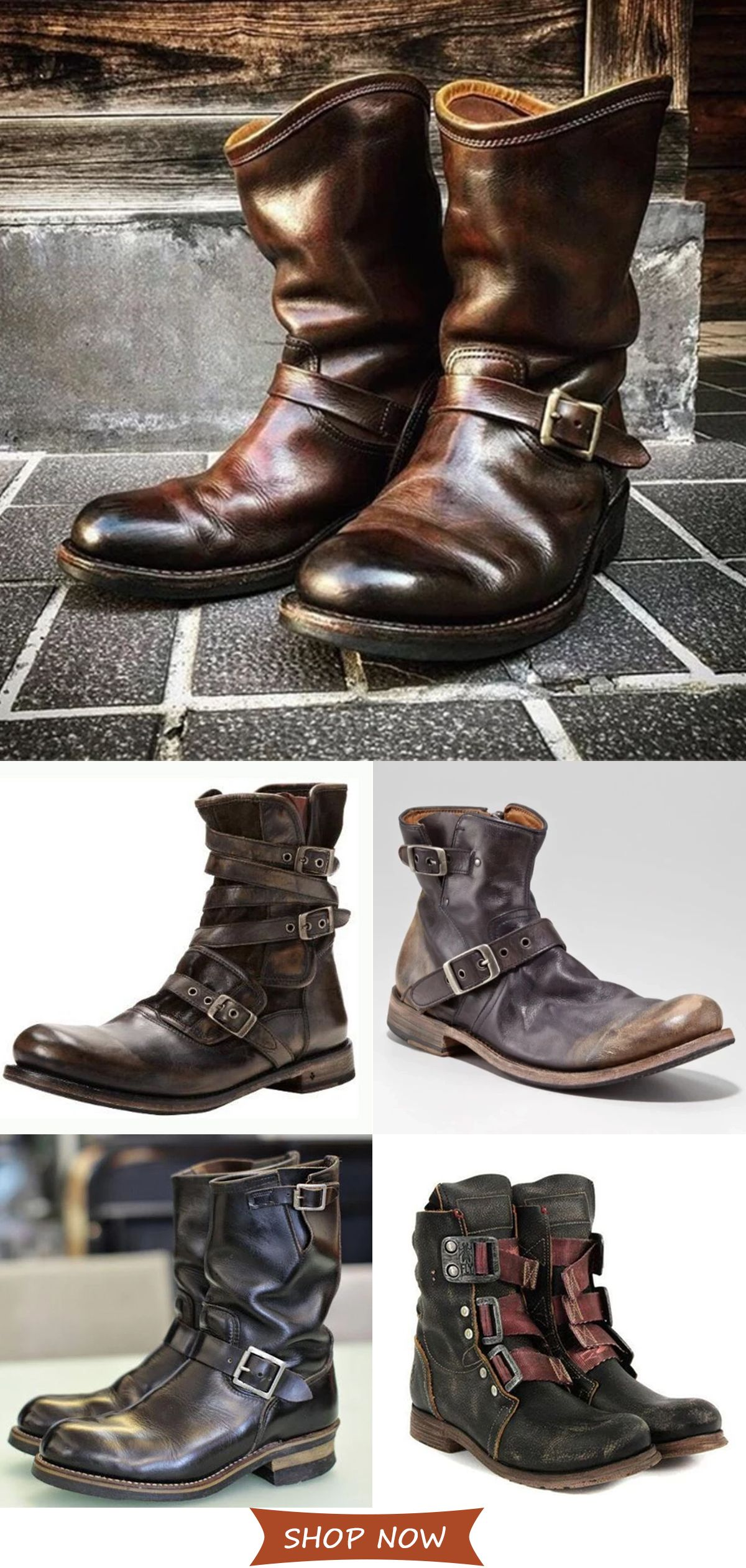 Photo of Men's Casual Vintage Boots On Sale.Hot Style√ Plus Size√ Good Quality√ Comfy√Shop now!