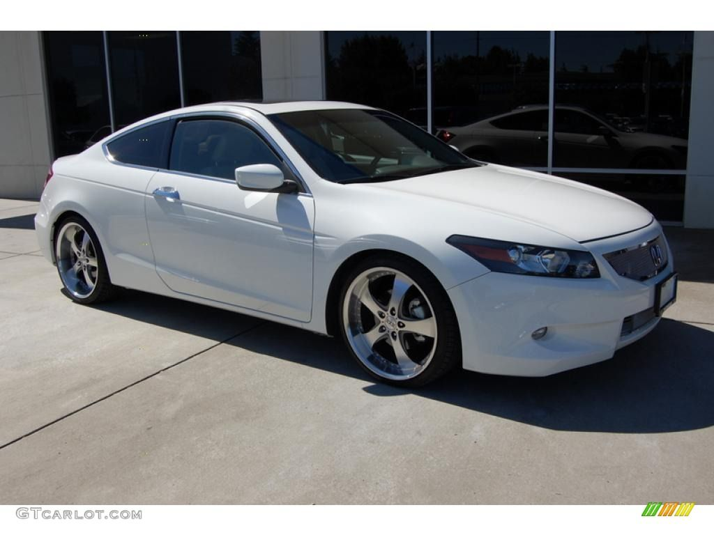 2010 Accord EX L V6 Coupe   White
