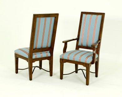 Bausman Co 3207 Arm Chair W24 X D27 X H46 Montana Furniture