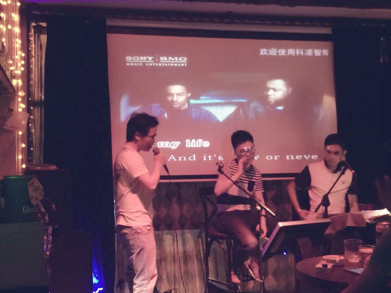 """it's my life"" , my song tonight.  welcome to visit China for my song,not for business .hahaha"