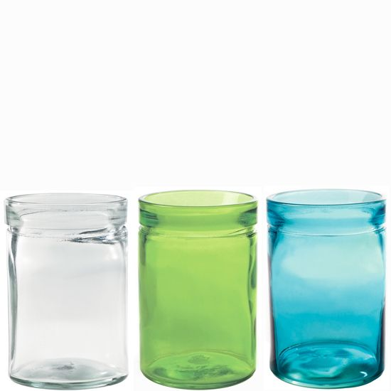 Glass Containers Wholesale | Recycled Glass Verona Container ...