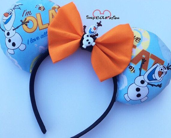 Olaf Summertime inspired Mouse Ears | Mickey Mouse Ears | Disney