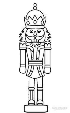 Image Result For Clipart Of Nutcracker Coloring Sheet