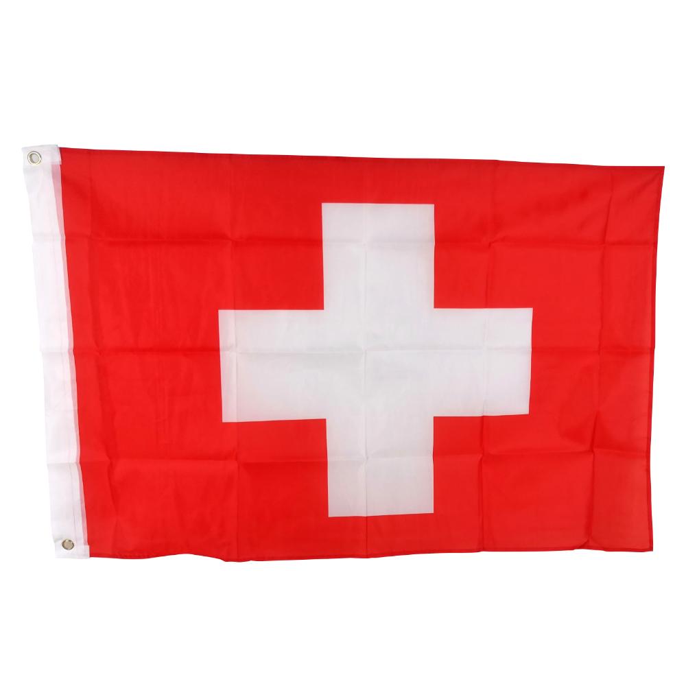 Custom Logo Printed Large All World Country Switzerland National Flags Buy Custom Logo Printed Flag Switzerland National Flags World Country Flags Product On