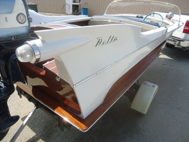 1957 Mahogany Delta With Fins Boat Design Forums Vintage Sleds