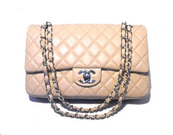 072853a1a095 Chanel Lambskin Quilted 10inch 2.55 Double Flap Classic Shoulder Bag $4,325