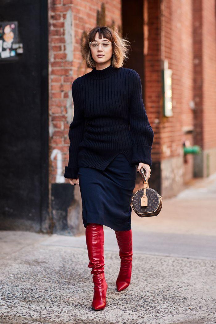 Der neueste Street Style von der New York Fashion Week #trendystreetstyle