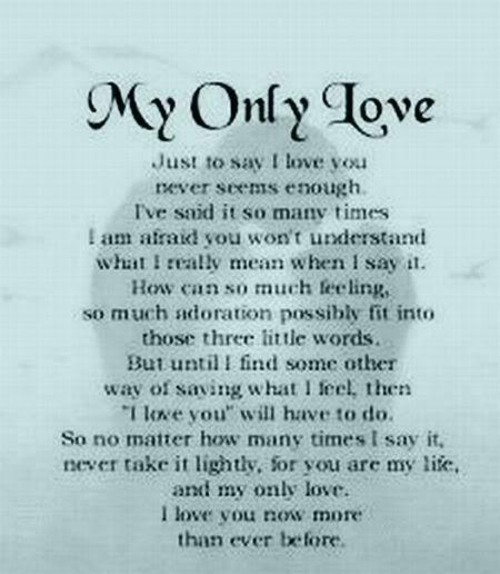 Wedding Insrirations Love Poems