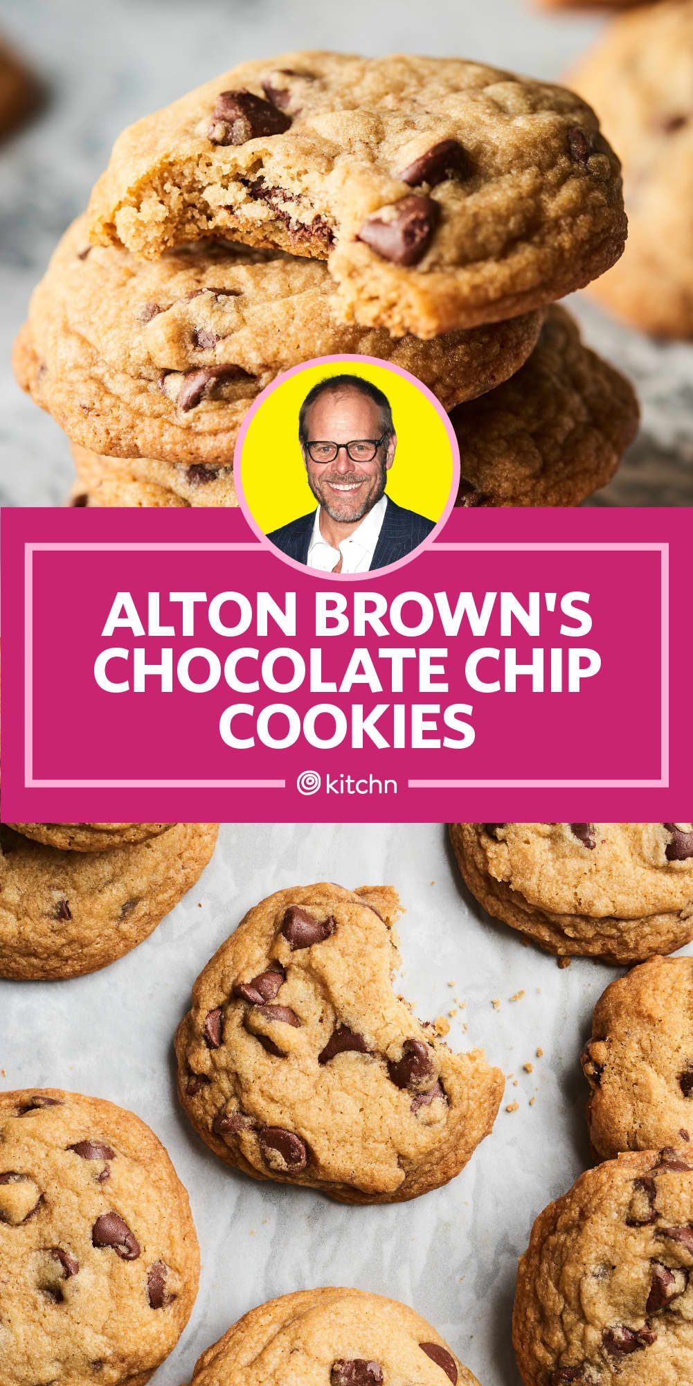 Alton Brown's Secret for a Perfectly Chewy Chocolate Chip Cookie #chocolatechipcookies