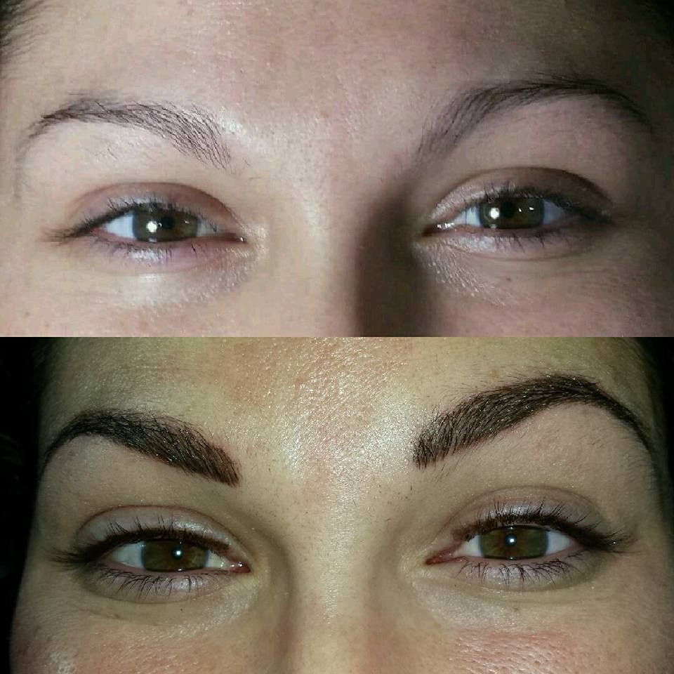 Before and After Microblading (With images) Skin makeup