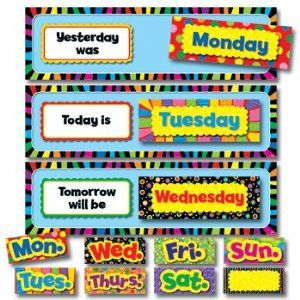 photo about Days of the Week Printable titled Preschool Calendar Printables Times of the 7 days Preschool