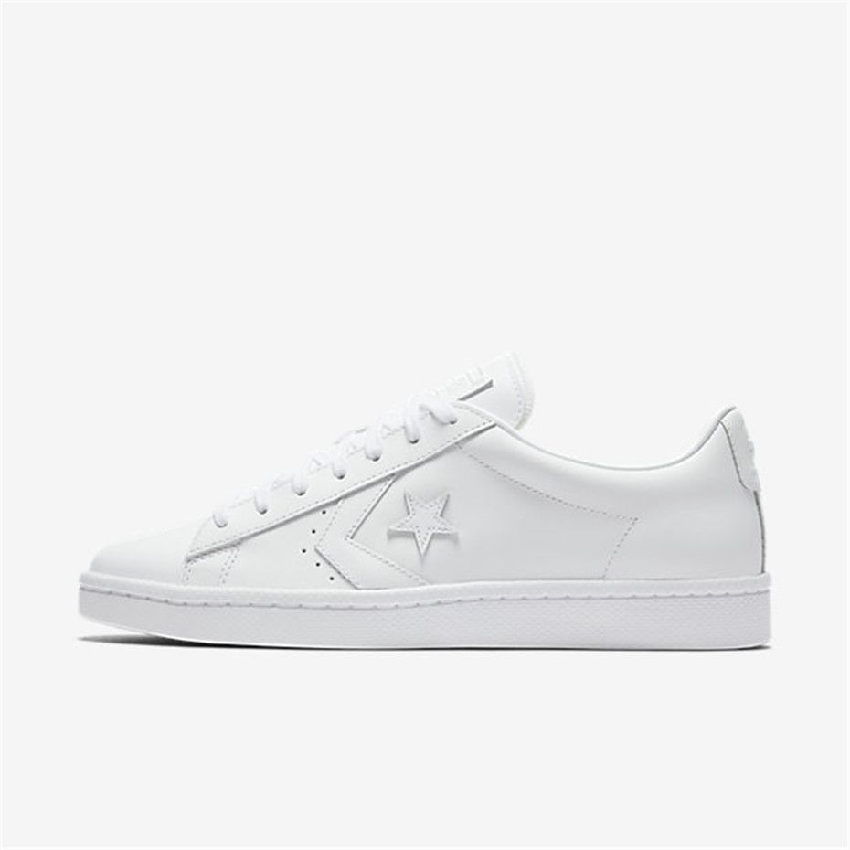 db34597955bf NIKE Converse Pro Leather Low Top (White)