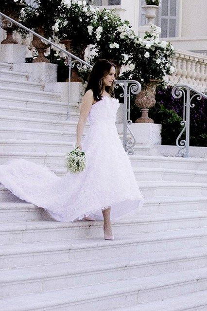Miss Dior Advert Natalie Portman Wedding Film Vogue Co Uk