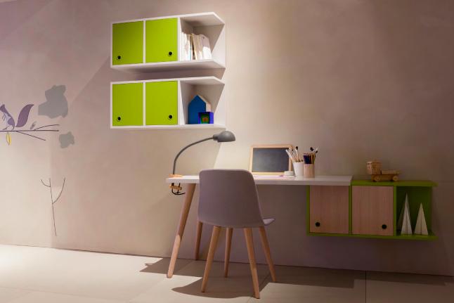 Nidi design by battistella via id for Design stanza ufficio