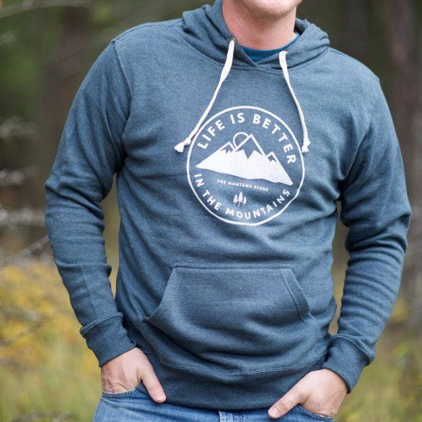 Life is Better in the Mountains Hoodie - Unisex