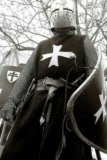 Templar in black