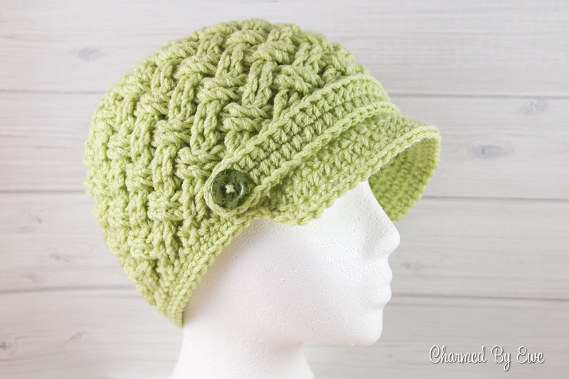 Free Celtic Dream Newsboy Hat Pattern | crochet hat patterns ...