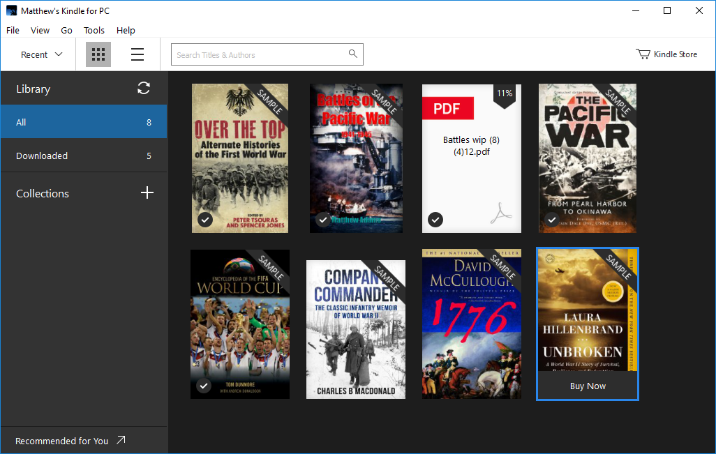 How To Use Your Kindle Content on a Windows PC Kindle