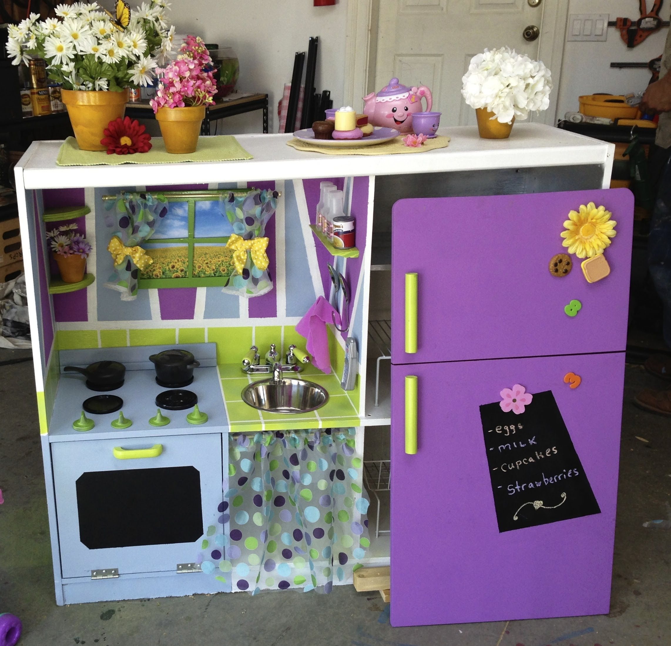 Part One Toddlers Diy Play Kitchen By Tanya Memme As Seen On Home