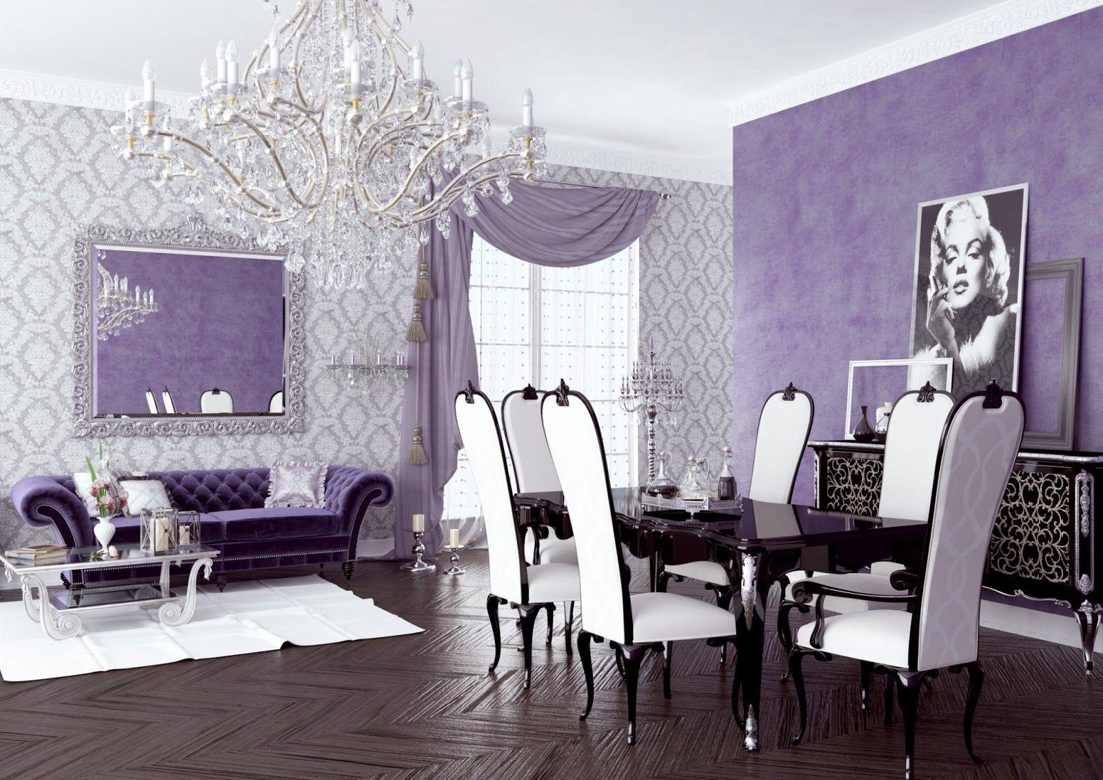 Interesting Purple Living Room Has Purple Living Room Purple Living Room Beautiful Living Rooms Lavender Living Rooms