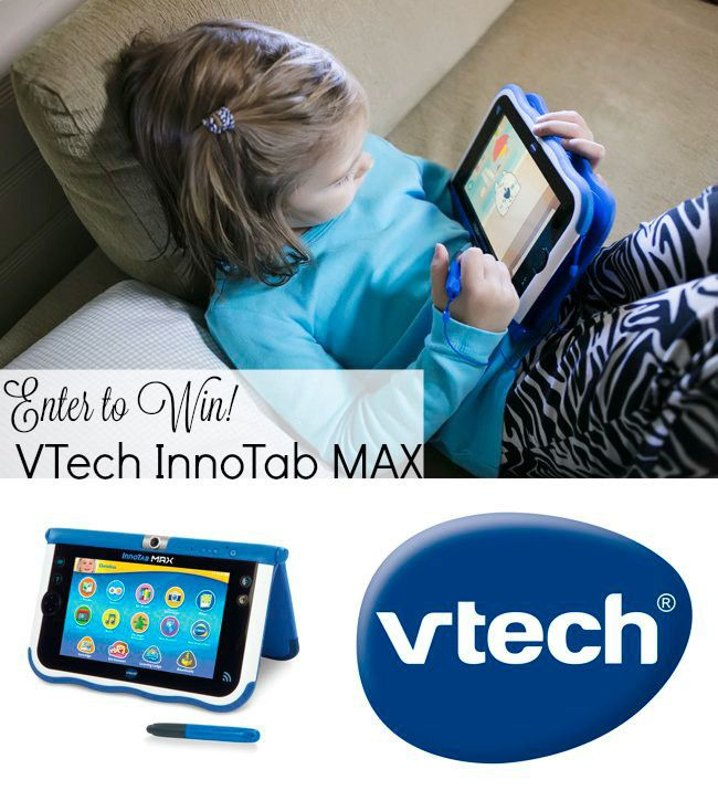 Why we love the new VTech InnoTab MAX. Plus enter to win your own InnoTab  MAX!  Review   Giveaway  4df8e74a7c711