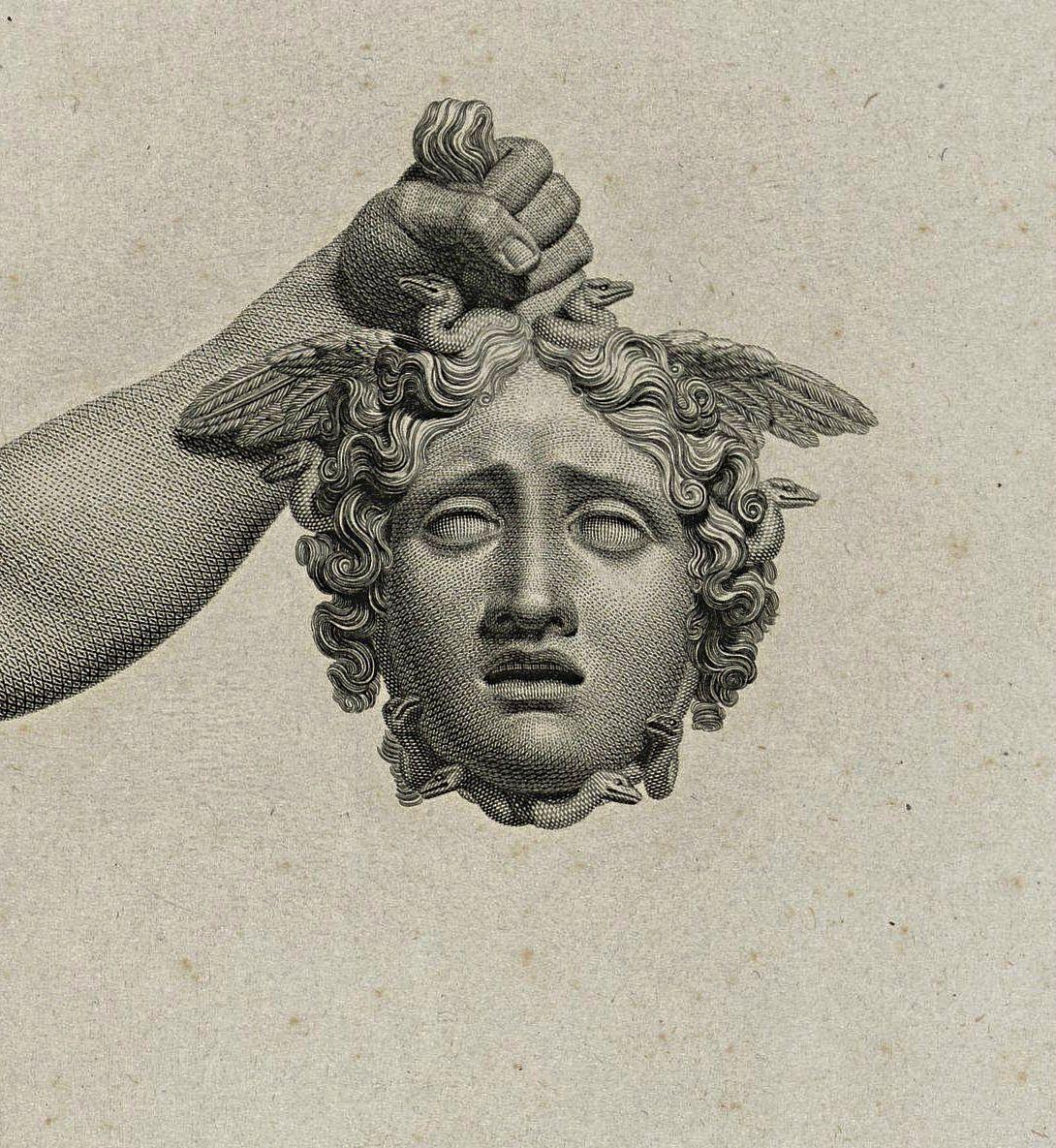 Hadrian6 Perseus With The Head Of Medusa 19th Century